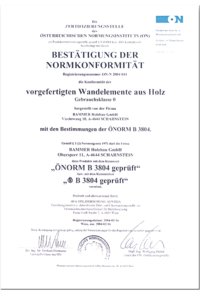 Zertifizierung Normkonformität